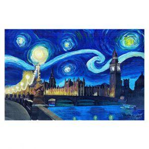 Decorative Floor Coverings | Markus Bleichner - Starry Night London Van Gogh