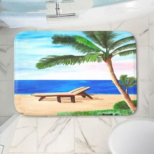Decorative Bathroom Mats | Markus Bleichner - Strand Chairs on Caribbean