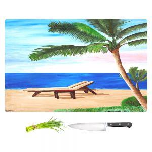 Artistic Kitchen Bar Cutting Boards | Markus Bleichner - Strand Chairs on Caribbean