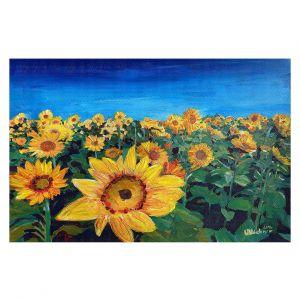 Decorative Floor Coverings | Markus Bleichner - Sunflower Fields
