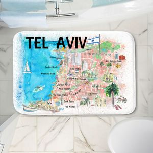 Decorative Bathroom Mats | Markus Bleichner - Tel Aviv Israel Tourist 2 | Cities Maps Travel