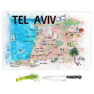 Artistic Kitchen Bar Cutting Boards | Markus Bleichner - Tel Aviv Israel Tourist 2 | Cities Maps Travel