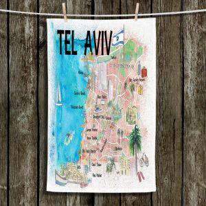 Unique Hanging Tea Towels | Markus Bleichner - Tel Aviv Israel Tourist 2 | Cities Maps Travel