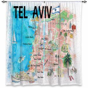 Decorative Window Treatments | Markus Bleichner - Tel Aviv Israel Tourist 2 | Cities Maps Travel