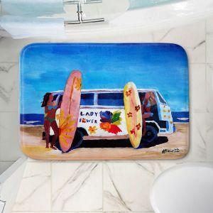 Decorative Bathroom Mats | Markus Bleichner - The Lady Power VW Bus