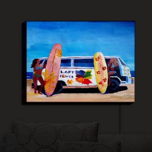 Nightlight Sconce Canvas Light | Markus Bleichner - The Lady Power VW Bus