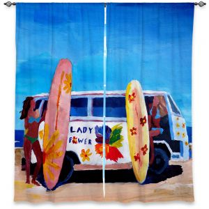 Decorative Window Treatments | Markus Bleichner The Lady Power VW Bus