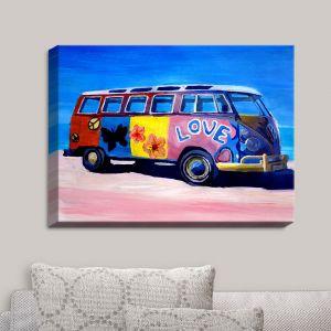 Decorative Canvas Wall Art | Markus Bleichner - The Love VW Bus