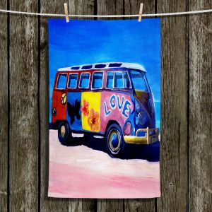 Unique Hanging Tea Towels | Markus Bleichner - The Love VW Bus | Volkswagon Bus Beach
