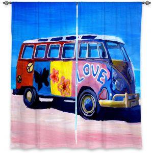 Decorative Window Treatments   Markus Bleichner The Love VW Bus