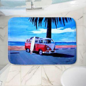 Decorative Bathroom Mats | Markus Bleichner - The Red Bus
