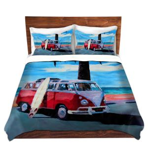 Artistic Duvet Covers and Shams Bedding | Markus Bleichner - The Red Bus