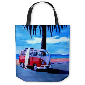 Unique Shoulder Bag Tote Bags | Markus Bleichner The Red Bus