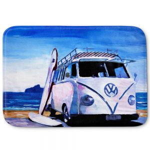 Decorative Bathroom Mats | Markus Bleichner - The White VW Bus