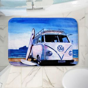 Decorative Bathroom Mats | Markus Bleichner - The White VW Bus