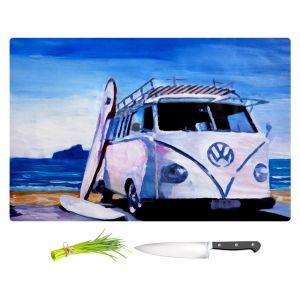 Artistic Kitchen Bar Cutting Boards | Markus Bleichner - The White VW Bus