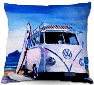 Decorative Outdoor Patio Pillow Cushion | Markus Bleichner - The White VW Bus