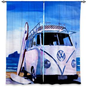 Decorative Window Treatments | Markus Bleichner The White VW Bus