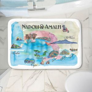 Decorative Bathroom Mats | Markus Bleichner - Tourist Amalfi Italy | Italy vacation