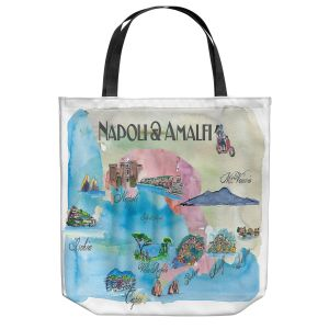Unique Shoulder Bag Tote Bags   Markus Bleichner - Tourist Amalfi Italy   Italy vacation