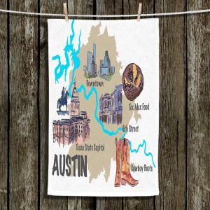 Unique Bathroom Towels | Markus Bleichner - Tourist Austin | map texas capitol