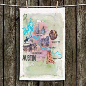 Unique Bathroom Towels   Markus Bleichner - Tourist Austin Texas 2