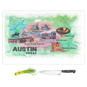 Artistic Kitchen Bar Cutting Boards | Markus Bleichner - Tourist Austin Texas 3 | Cities Maps Travel