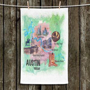Unique Bathroom Towels   Markus Bleichner - Tourist Austin Texas 3   Cities Maps Travel