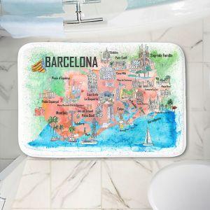 Decorative Bathroom Mats | Markus Bleichner - Tourist Barcelona Catalonia | Cities Maps Travel