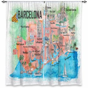Decorative Window Treatments | Markus Bleichner - Tourist Barcelona Catalonia | Cities Maps Travel