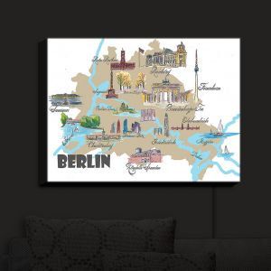 Nightlight Sconce Canvas Light | Markus Bleichner - Tourist Berlin