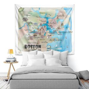 Artistic Wall Tapestry | Markus Bleichner - Tourist Boston | Tourist attractions Massachusetts