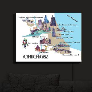 Nightlight Sconce Canvas Light | Markus Bleichner - Tourist Chicago