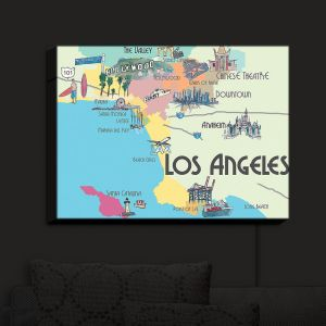 Nightlight Sconce Canvas Light | Markus Bleichner - Tourist Lost Angeles