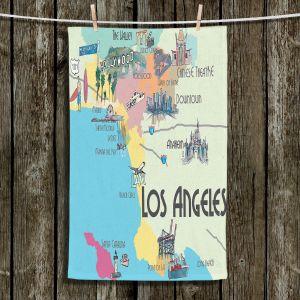 Unique Bathroom Towels   Markus Bleichner - Tourist Lost Angeles   map california city