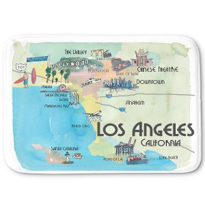 Decorative Bathroom Mats | Markus Bleichner - Tourist Los Angeles 2 | Tourist attractions California