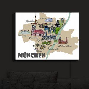 Nightlight Sconce Canvas Light | Markus Bleichner - Tourist Munich