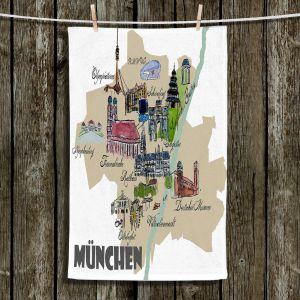Unique Bathroom Towels   Markus Bleichner - Tourist Munich   map germany city