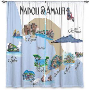 Decorative Window Treatments | Markus Bleichner - Tourist Napoli Amalfi | map city