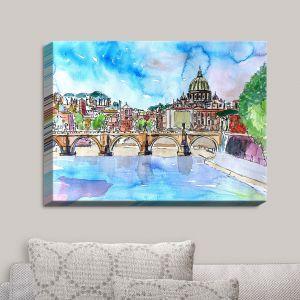 Decorative Canvas Wall Art | Markus Bleichner - Vatican Rome Italy Saint Peter I | Italy Vatican Rome St. Peter Travel City