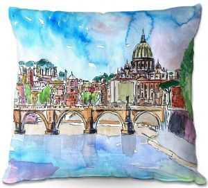 Throw Pillows Decorative Artistic | Markus Bleichner - Vatican Rome Italy Saint Peter l