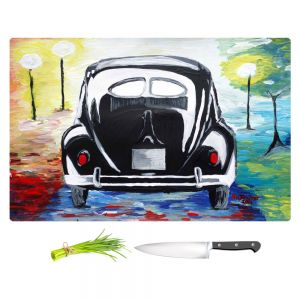 Artistic Kitchen Bar Cutting Boards | Markus Bleichner - Volkswagon Bug Split Window