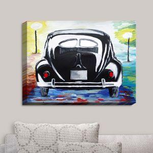 Decorative Canvas Wall Art | Markus Bleichner - Volkswagon Bug Split Window