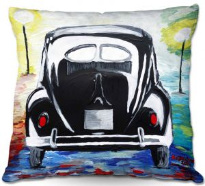 Throw Pillows Decorative Artistic | Markus Bleichner - Volkswagon Bug Split Window