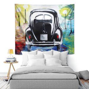 Artistic Wall Tapestry | Markus Bleichner - Volkswagon Bug Split Window
