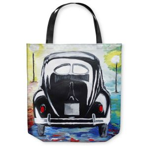 Unique Shoulder Bag Tote Bags | Markus Bleichner - Volkswagon Bug Split Window