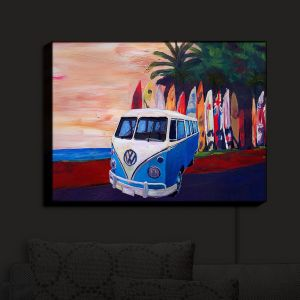 Nightlight Sconce Canvas Light | Markus Bleichner - VW Bus Surfing 2