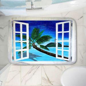 Decorative Bathroom Mats   Markus Bleichner - Window To Paradise
