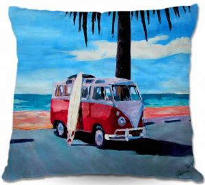 Decorative Outdoor Patio Pillow Cushion | Markus Bleichner - The Red Bus
