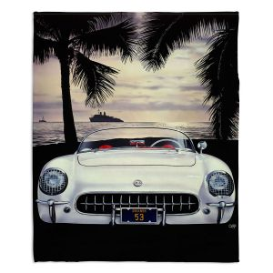 Decorative Fleece Throw Blankets | Mark Watts - Miami Beach
